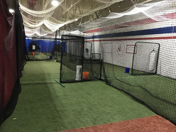 Play At The Cage - Hitting Areas
